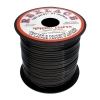 Vinyl Lacing Flat 100yds Black